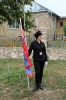 У флага